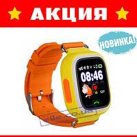 Детские умные смарт часы телефон с GPS трекером Smart Baby Watch Q90 (Q100)!