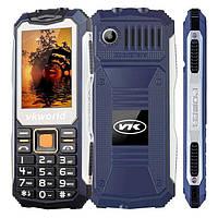 """Ударопрочный мобильный телефон Vkworld Stone V3S deep blue синий IP54 (2SIM) 2,4"""" 0,3 Мп 2200 мАч Гарантия!"""