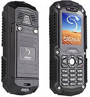 """Защищенный телефон Sigma Х-treme black черный IТ67 (2SIM) 2"""" 1,3 Мп оригинал Гарантия!"""