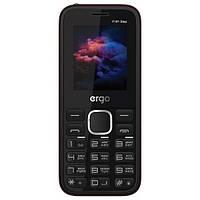 """Мобильный телефон ERGO F181 Step DS Black черный (2SIM) 1.77"""" 32/32МБ+SD 0,8Мп оригинал Гарантия!"""
