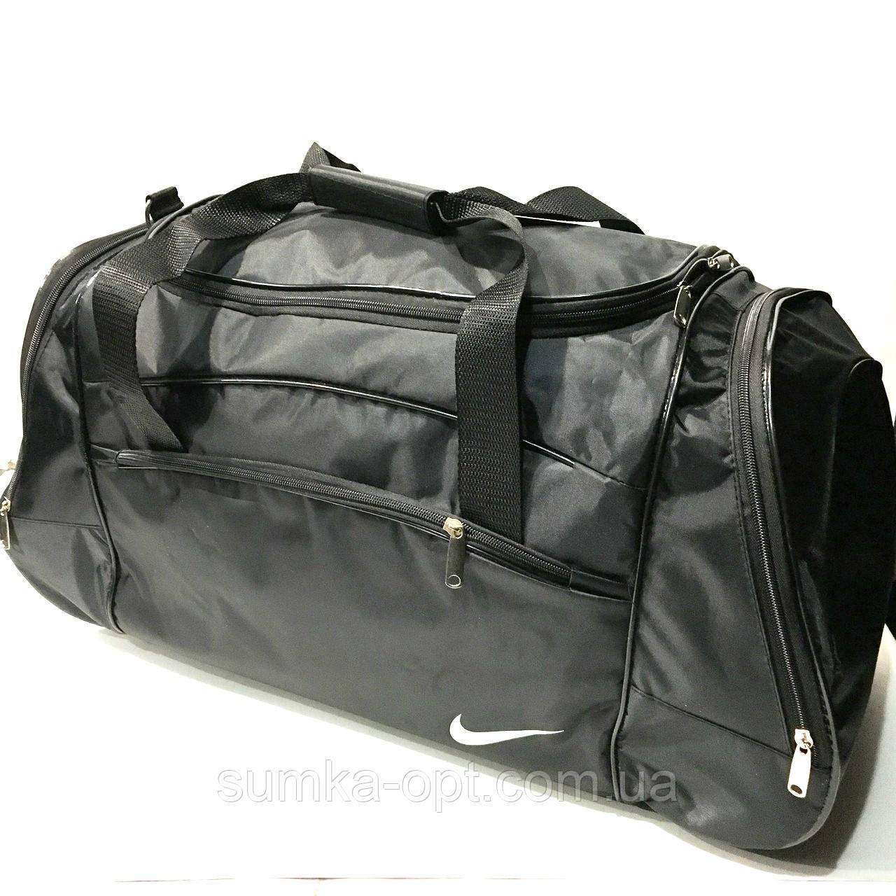 9d0f25a84a4cf Дорожные спортивные сумки Nike из плащевки (черный)33*65см: продажа ...