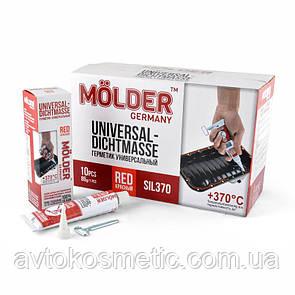 Molder Герметик високот.червоний,БЕЗ ЗАПАХУ,100% силіконовий,еластичний,швидкого висихання без розчинників