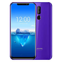 """Смартфон OUKITEL C12 Pro purple фиолетовый (2SIM) 6.18"""" 2/16gb 5/8+2МП 3G 4G оригинал Гарантия!"""