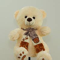 Подарочный плюшевый Мишка 68 см детские мягкие игрушки медведь в шарфе