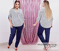 Женская модная блузка  ДЕ859Б (бат), фото 1