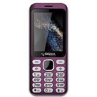 """Мобильный телефон Sigma X-Style 33Steel Pink розовый (2SIM) 2,8"""" 0,3Мп оригинал Гарантия!"""