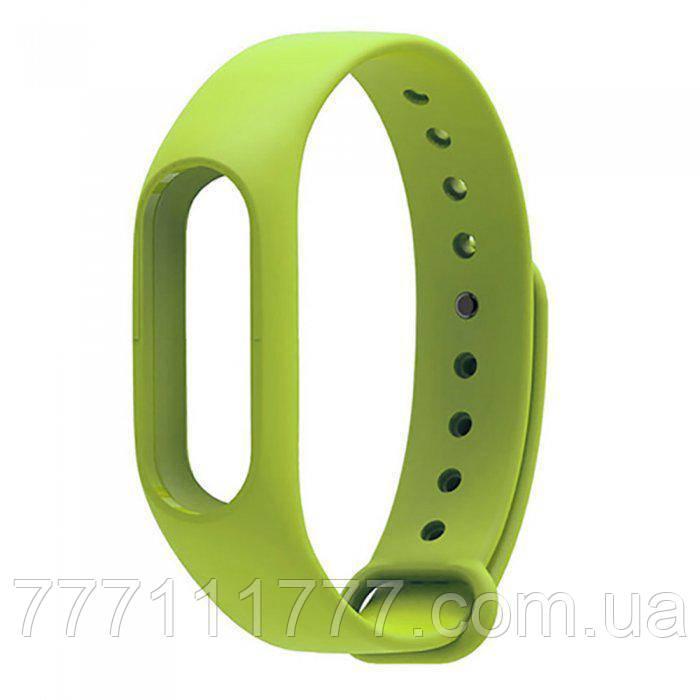 Ремешок для фитнес-браслета Xiaomi Mi Band 2 Green зеленый оригинал Гарантия!