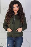 Куртка женская демисезонная плащевка на синтепоне 42-46 размеров, 6 цветов