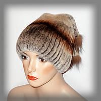 Женская шапка из меха кролика Rex Rabbit