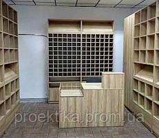 Оборудование для магазина одежды. Мебель для магазина рубашек и галстуков