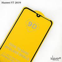 Защитное стекло для Huawei Y7 2019 (DUB-LX1), Full Glue