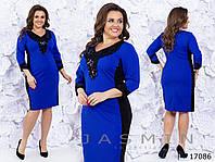 Платье женское нарядное большого размера, фото 1
