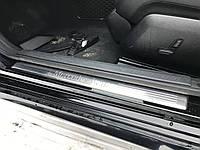 Накладка порога хромированная внутренняя передняя левая Mercedes e-class w212 A2126862936