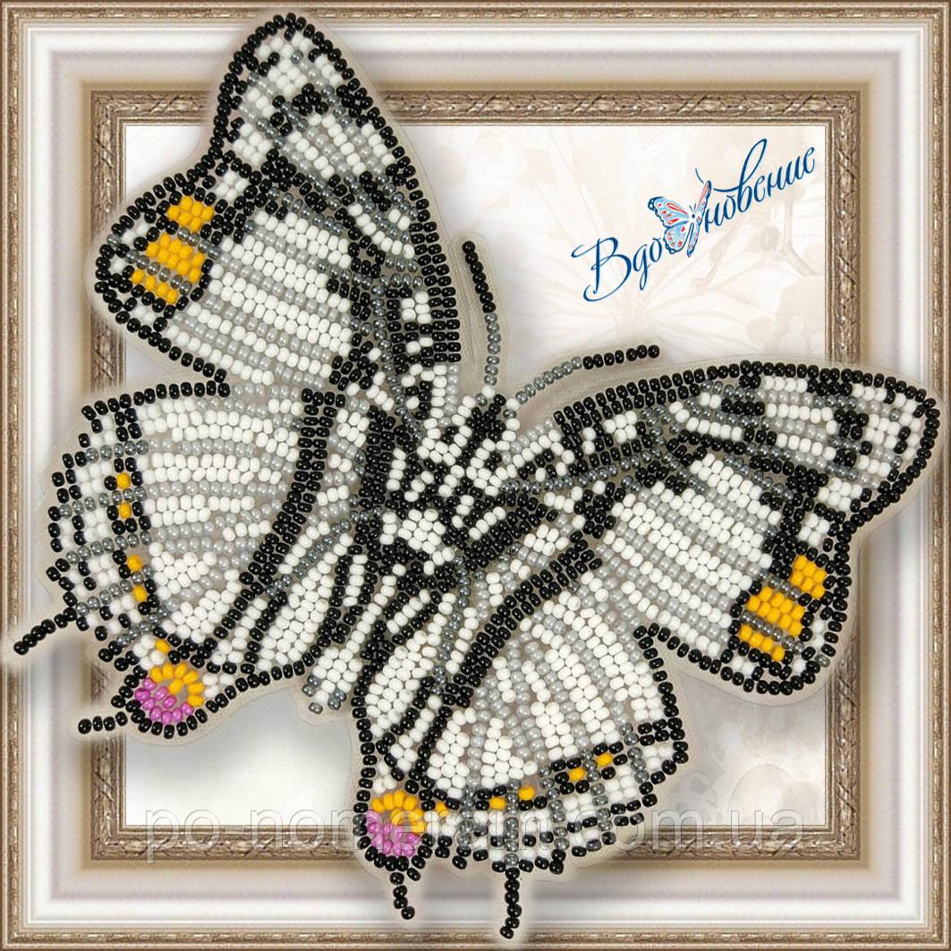 Бабочка из бисера вышивка на пластиковой основе Харакс Нобилис (BGP030)