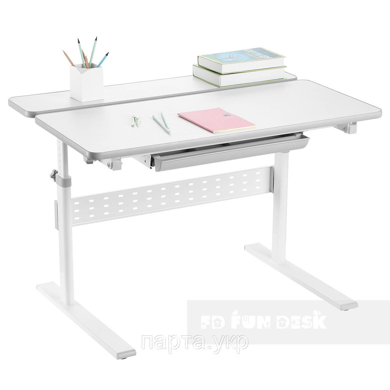 Парта трансформер для школьника, Colore Grey