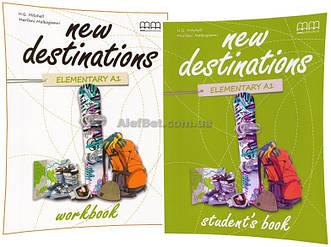 Английский язык / New Destinations / Student's+Workbook. Учебник+Тетрадь (комплект), Elementary A1 / MM