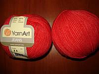 YarnArt Jeans - 26 красный