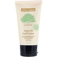 """Крем для рук Mild By Nature """"Argan Oil Hand Cream"""" с маслами Арганы, Марулы, Кокоса и Ши (71 г)"""
