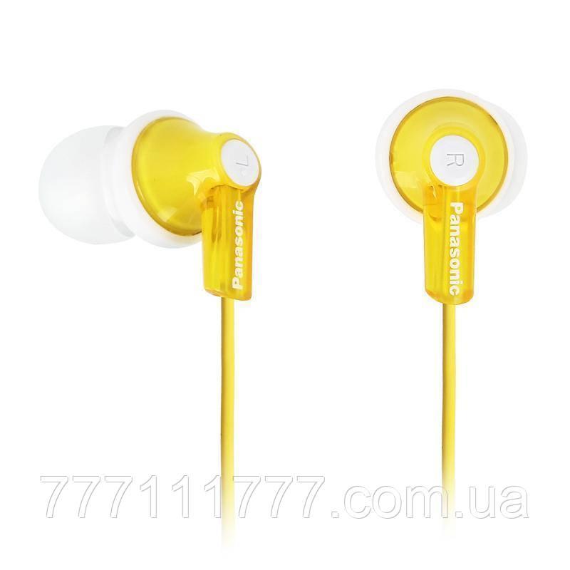 Наушники Panasonic RP-HJE118 yellow желтые оригинал Гарантия! (100% ПРЕДОПЛАТА!)