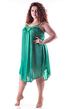 Ночная рубашка зеленая