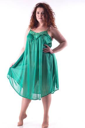 Ночная рубашка зеленая , фото 2