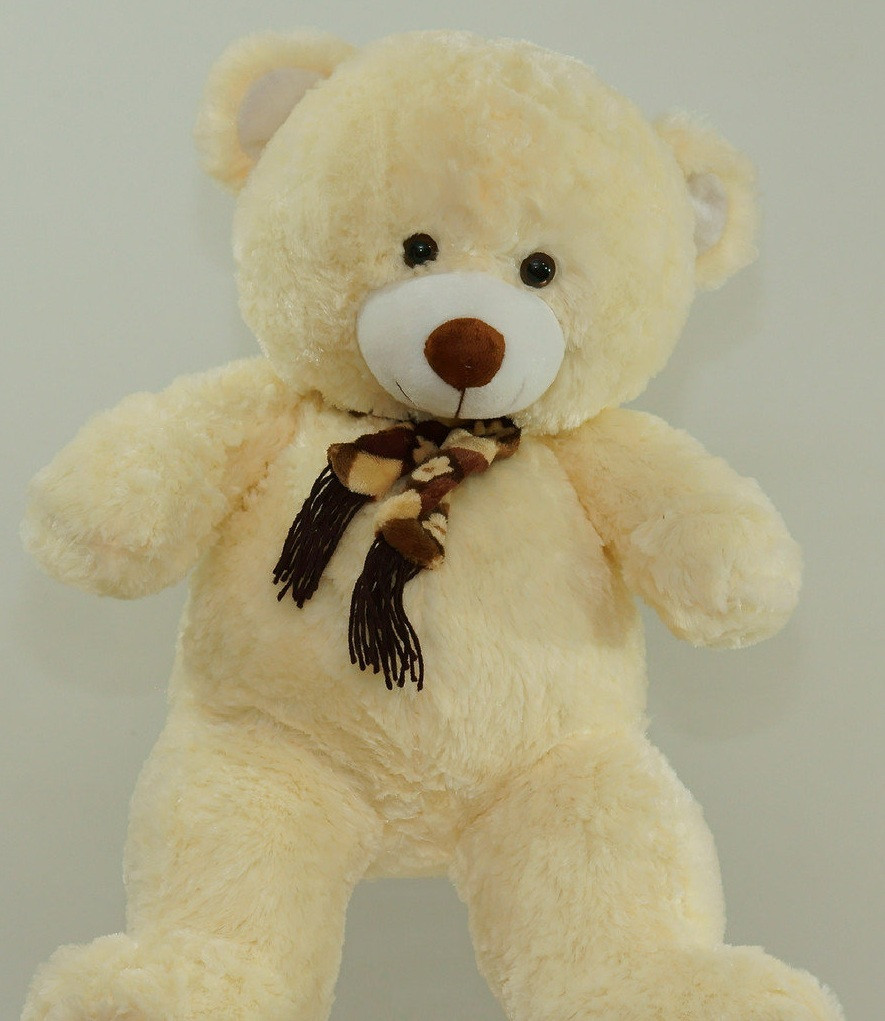 0b0937fff79c1 Плюшевый подарок мягкая игрушка Медведь 60 см в шарфе детские игрушки мишка  мягкий