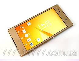 Смартфон Sony Z4 2/16ГБ (по AnTuTu) gold золото 3G 4G 5,0*  Гарантия! (Реплика)