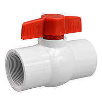 Кран шаровый Presto-PS 40 мм с внутренней резьбой 1,1/4 дюйма (PF-0140), фото 1