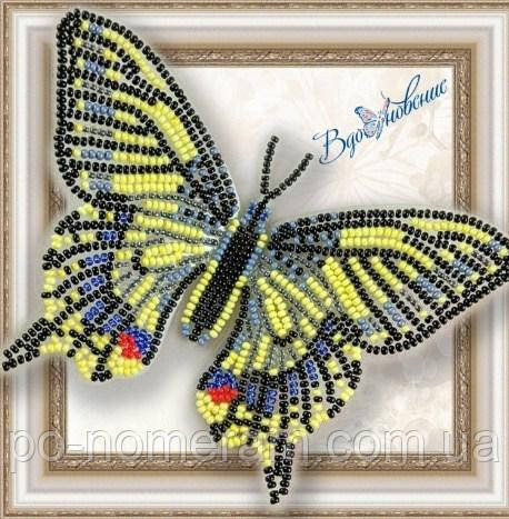Бабочка из бисера вышивка на пластиковой основе Махаон (BGP002)