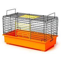 Клетка для грызунов Кролик 570х300х335 мм краска  разные цвета