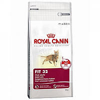 Корм Royal Canin Fit , для кошек с доступом на улицу, старше 1 года, 0,4 кг