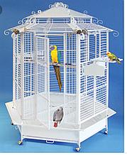 Kings Cages 508 - Вольєр для великого папугу 132*132*183 см