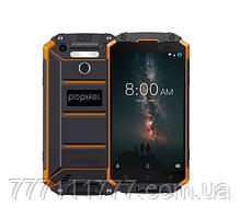 "Защищенный смартфон Poptel P9000 Max orange оранжевый IP68 (2SIM) 5,5"" 4/64ГБ 5/13Мп 3G 4G оригинал Гарантия!"