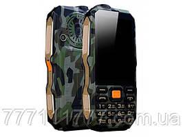 "Защищенный телефон Dbeif D2017 Camouflage IP54 (2SIM) 3,5"" 0,3Мп 9800мАч оригинал Гарантия!"