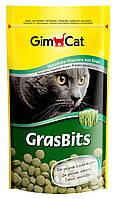 Витаминизированные таблетки с травой Gimpet GrasBits для кошек, 710гр, G-417080