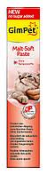 Паста для выведения шерсти Gimpet Malt-Soft для кошек, 100г, G-407531