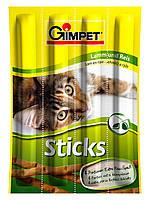 Мясные палочки Gimpet Sticks для кошек, с ягненком и рисом, 4шт 420523
