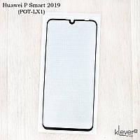Защитное стекло 2,5D Full Cover для Huawei P Smart 2019 (POT-LX1) (black silk)