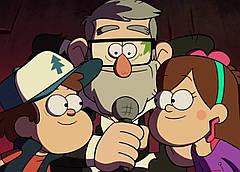 Картина GeekLand Gravity Falls Гравити Фолз постер к мультфильму 60х40см GF.09.004
