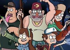 Картина GeekLand Gravity Falls Гравити Фолз постер к мультфильму 60х40см GF.09.005
