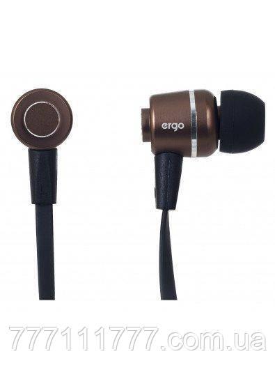 Наушники Ergo ES-200i Bronze бронзовый оригинал Гарантия! (ПРЕДОПЛАТА 100%)