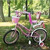 """Велосипед Sigma Rueda 18"""" с сидением для куклы, фото 1"""