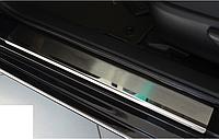 Накладки на пороги для Toyota Camry V70 2018-
