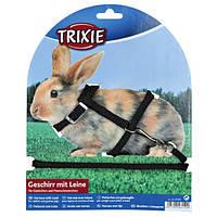 Поводок+шлея Trixie, для кролика, нейлоновый, 1,30 м