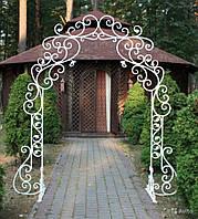 Кованая арка№1