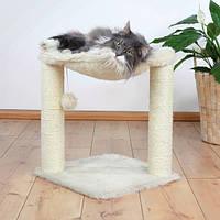 Когтеточка Trixie Baza Scratching Post, для кошек, кремовая, 50см