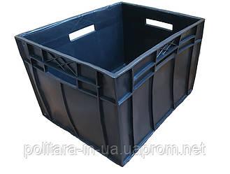 Ящик складской сплошной 433x347x283