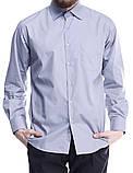 Мужская рубашка серого цвета, фото 2