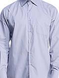 Мужская рубашка серого цвета, фото 4