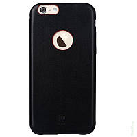Накладка Baseus iPhone 6 Leather Thin Black